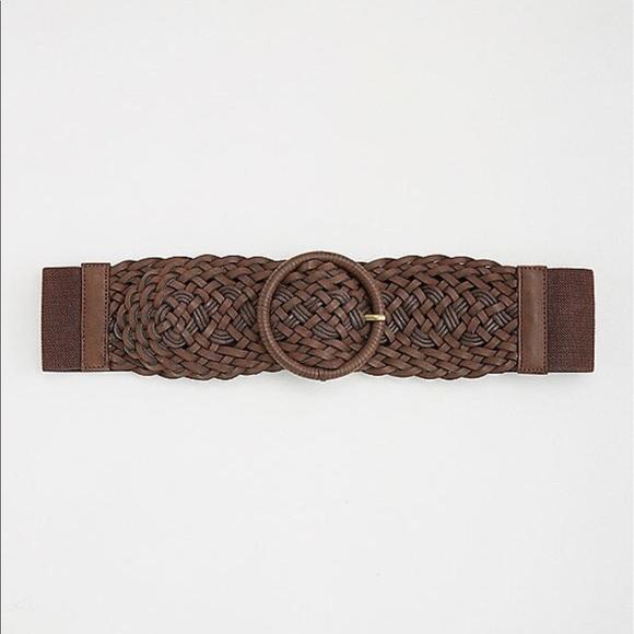 torrid Accessories - Nwt Torrid Stretch Brown Braided Belt